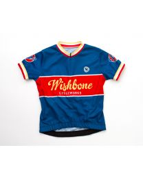 Wishbone Bike - Wielertruitje Blauw M