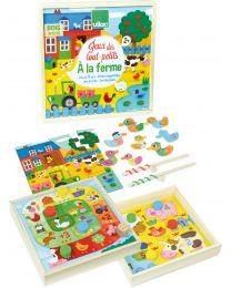 """Vilac - Speelgoed voor de allerkleinsten """"op de boerderij"""""""