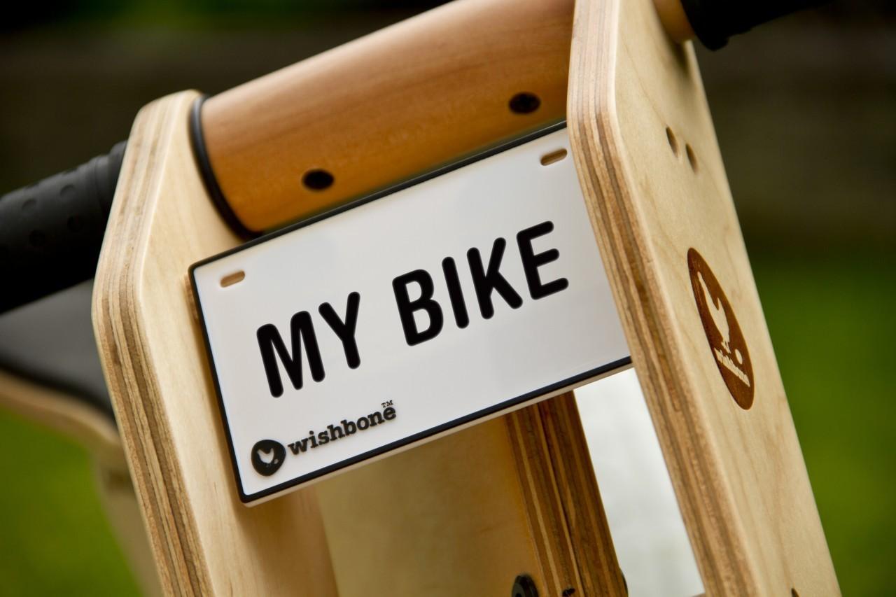 Jouw naam op je Wishbone bike