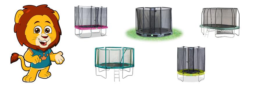 Banner-trampoline