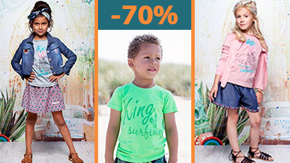 Kinderkleding outlet -70%